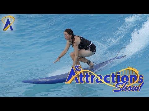 The Attractions Show! - Surfing at Typhoon Lagoon; Krispy Kreme Doughnuts; latest news