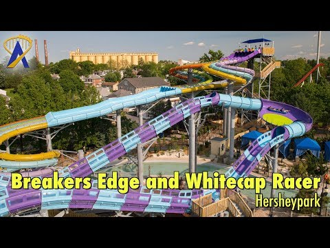 Breakers Edge Water Coaster and Whitecap Racer at The Boardwalk At Hersheypark