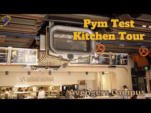 Inside Pym Test Kitchen at Avengers Campus, Disneyland Resort