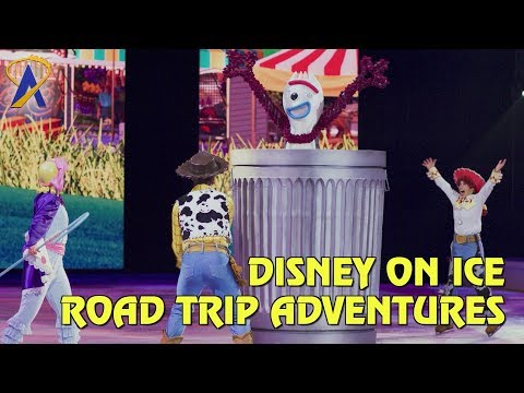Highlights from Disney On Ice presents Road Trip Adventures