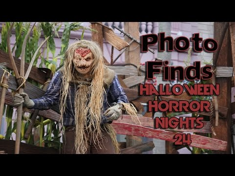 Photo Finds: Halloween Horror Nights XXIV at Universal Orlando - Sept. 30, 2014