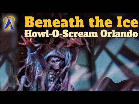 Beneath The Ice Haunted House Full Walkthrough – Howl-O-Scream Orlando