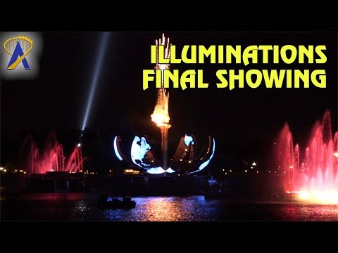 Final Showing of IllumiNations: Reflections of Earth at Epcot