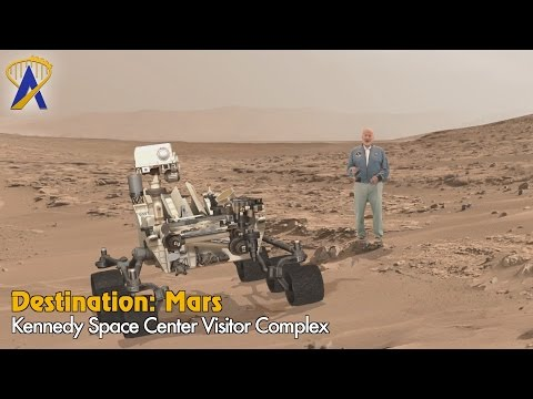 Walk on the Red Planet inside Destination: Mars at Kennedy Space Center Visitor Complex