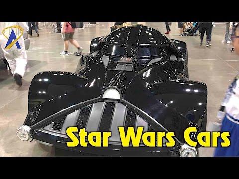 Full-size Star Wars vehicles at Star Wars Celebration 2017