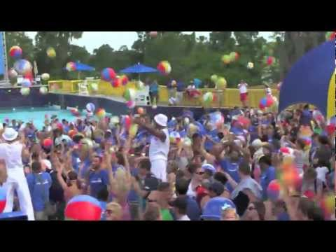 World Record for most Bouncing Beach Balls set by Legoland Florida Water Park