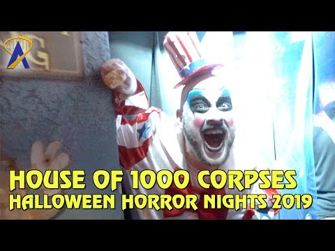 House of 1000 Corpses highlights from Halloween Horror Nights Orlando 2019