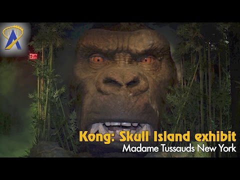 King Kong exhibit unveiled at Madame Tussauds New York