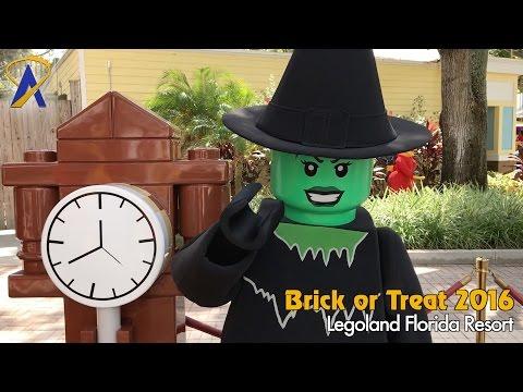 Brick or Treat Legoland Florida Halloween event 2016