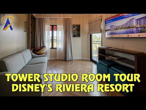 Tower Studio Room Tour at Disney's Riviera Resort, a Disney Vacation Club Resort