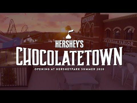 Hershey's Chocolatetown: Opening at Hersheypark Summer 2020