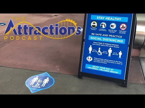LIVE: Recording Episode 35 of The Attractions Podcast