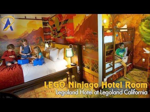 Legoland Hotel Ninjago room at Legoland California Resort