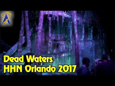 Dead Waters highlights from Halloween Horror Nights Orlando 2017