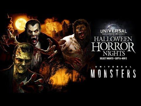 Universal Monsters House Reveal | Halloween Horror Nights 2019