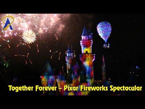 Together Forever – A Pixar Nighttime Firework Spectacular in Disneyland California