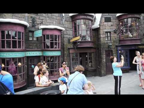 Hogsmeade Village walk-through tour at The Wizarding World of Harry Potter