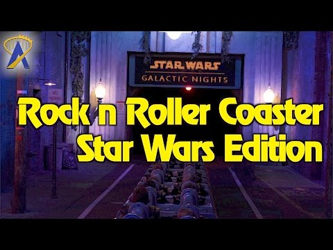 Rock 'n' Roller Coaster: Star Wars Edition POV at Star Wars Galactic Nights