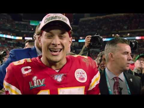 "Kansas City Chiefs Patrick Mahomes ""Going to Disney World"" Super Bowl LIV Commercial"
