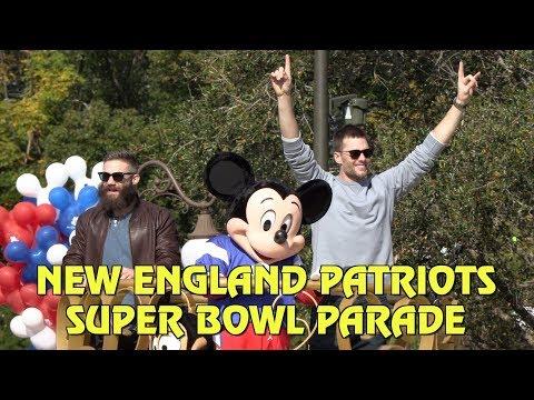 Tom Brady and Julian Edelman Celebrate Super Bowl LIII Victory at Disney World