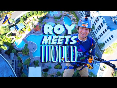 Going Over the Edge with Roy Meets World