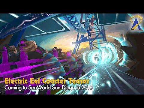 Electric Eel Teaser - Coming to SeaWorld San Diego in 2018
