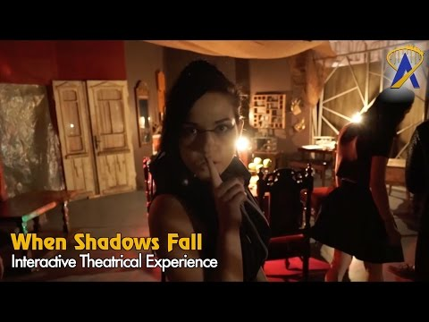 When Shadows Fall interactive theatrical attraction