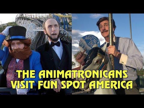The Animatronicans Visit Fun Spot America Orlando