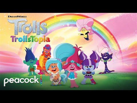 DreamWorks Trolls: TrollsTopia | Official Trailer | Peacock