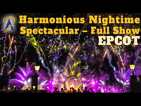 New Harmonious Nighttime Spectacular Debuts At Epcot