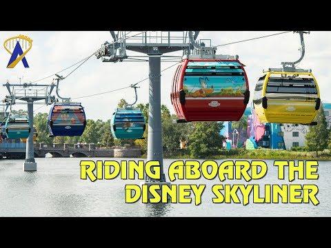 Riding Aboard the Disney Skyliner at Walt Disney World Resort