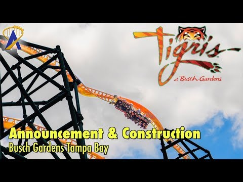 Tigris Construction Tour at Busch Gardens Tampa Bay