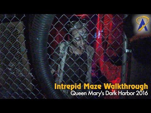 Intrepid - Full Maze at Queen Mary Dark Harbor 2016