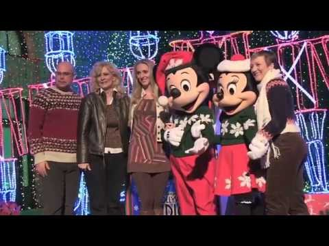 Osborne Family interview about their Christmas light display at Hollywood Studios