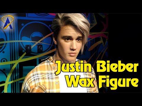Justin Bieber wax figure unveiled at Madame Tussauds Orlando