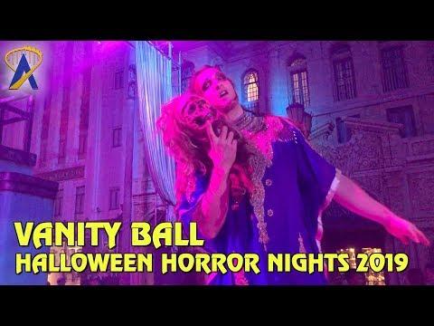 Vanity Ball Scare Zone at Halloween Horror Nights Orlando 2019