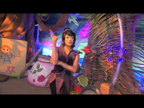 Meet Vidia, the newest resident in Pixie Hollow at the Magic Kingdom