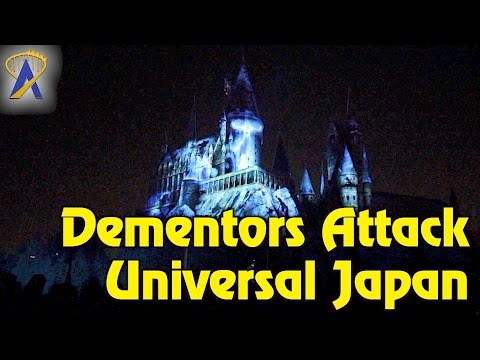 Expecto Patronum Night Show at Universal Japan's Wizarding World of Harry Potter