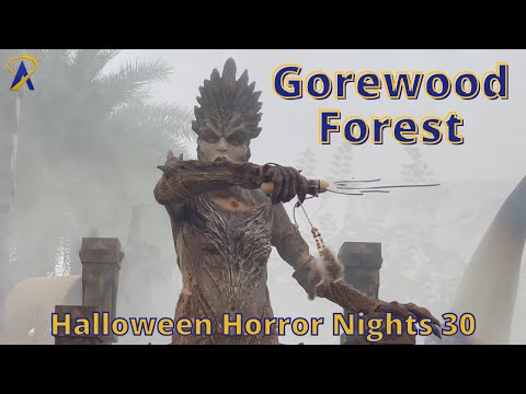 Gorewood Forest Scare Zone at Halloween Horror Nights 2021