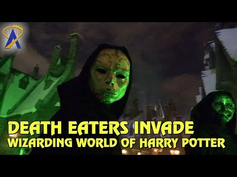Death Eaters invade Wizarding World of Harry Potter at Universal's Islands of Adventure
