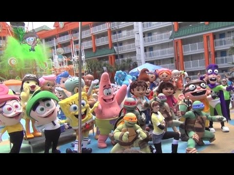 Nickelodeon Hotel celebrates 10th birthday with special character appearances