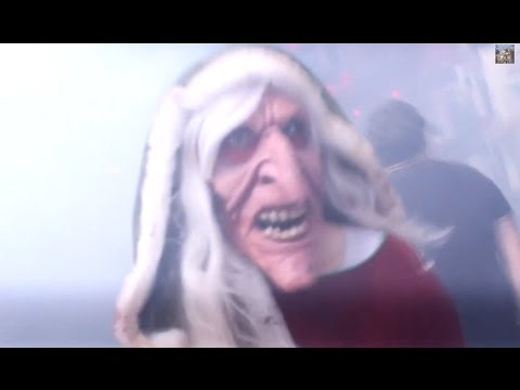 Dark Christmas scare zone at Universal Hollywood's Halloween Horror Nights