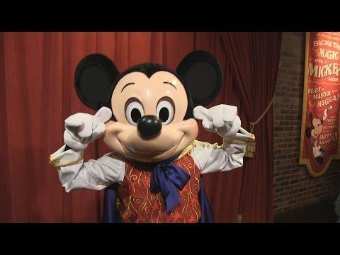 Talking Magician Mickey now meeting guests daily at Magic Kingdom