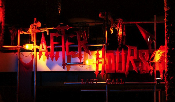 Busch Gardens Howl O Scream 9 2008 Review Pictures And