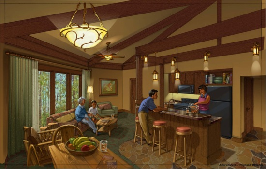 New disney vacation club properties bay lake tower at the - 2 bedroom villas near disney world ...