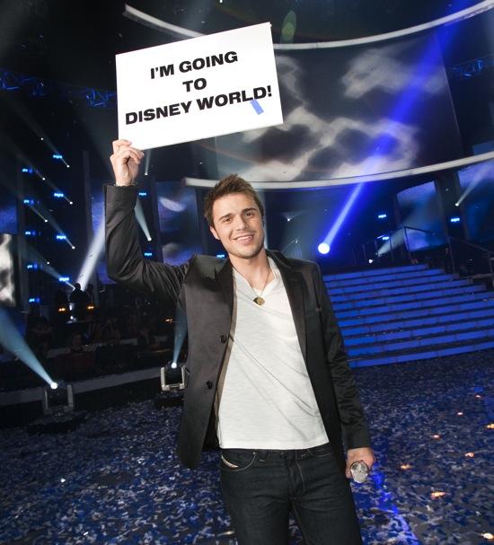 American Idol Season 8 Winner Kris Allen is Going to Disney World