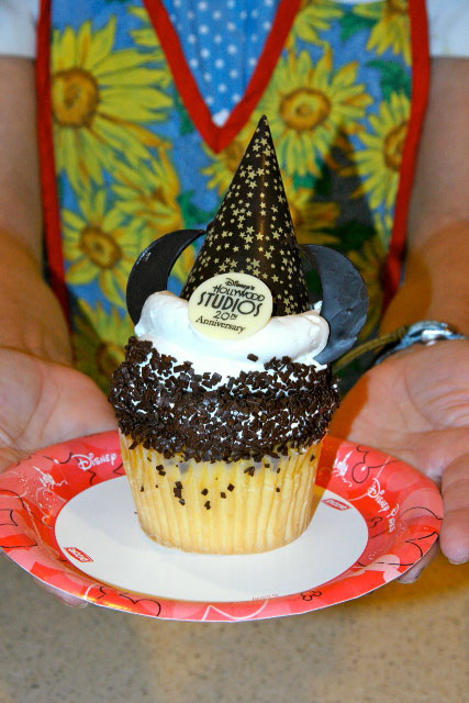 Hollywood Studios cupcake