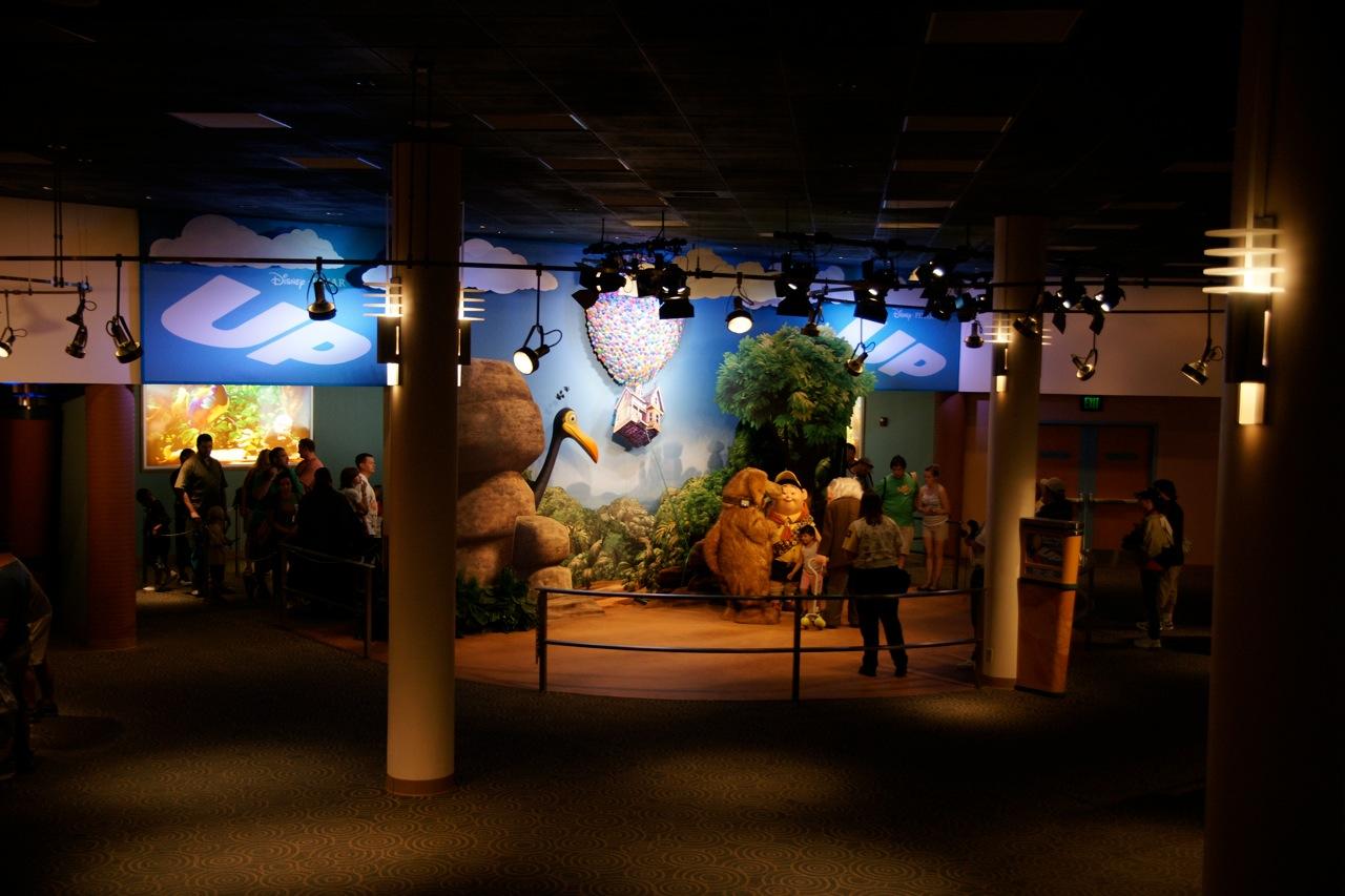 Disney/Pixar's Up meet-and-greet