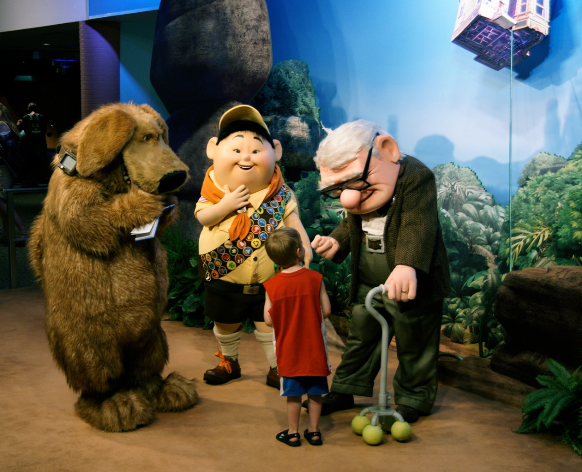 Disney/Pixar's Up meet-and-greet