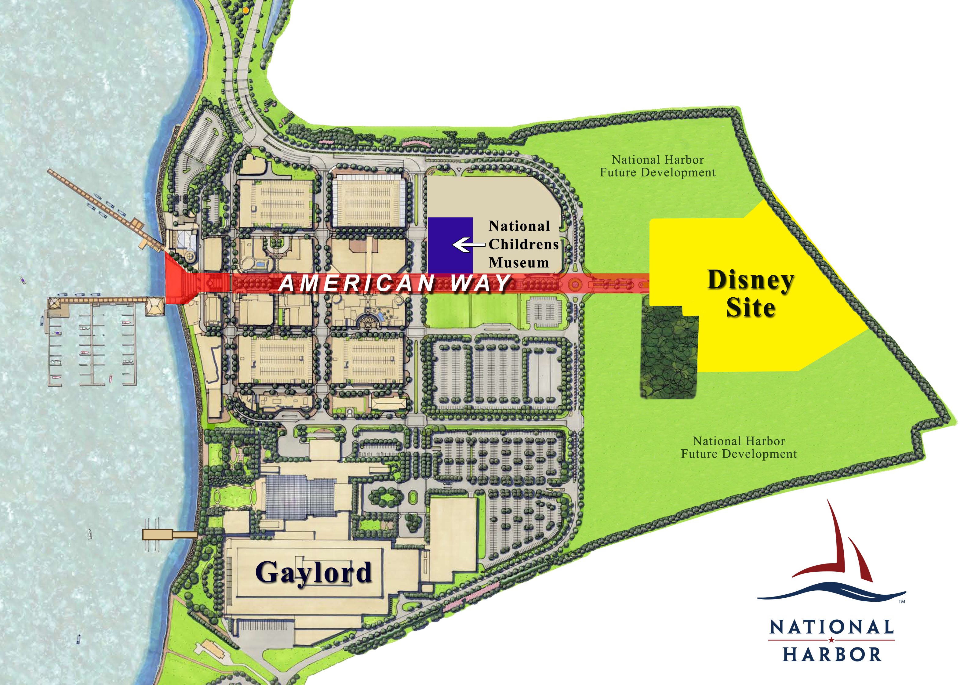 Disney Purchases Washington DC Land to Build New Resort Hotel